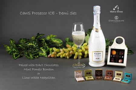 Canti Prosecco ICE & Mint Pomelo Bonbon / Lime White Neapolitan 범주의 사진