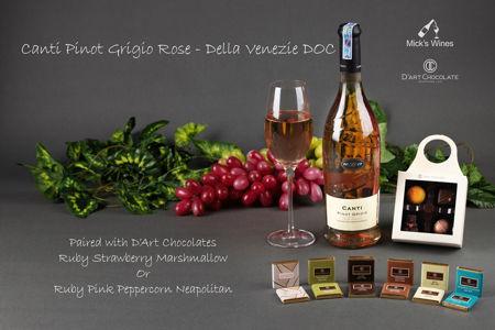 Canti Pinot Grigio Rose & Ruby Strawberry Marshmallow | Ruby Pink Peppercorn Neapolitan 범주의 사진