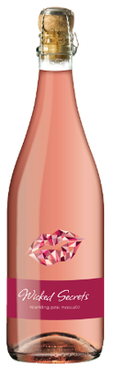 Picture of Wicked Secrets Pink NV Moscato